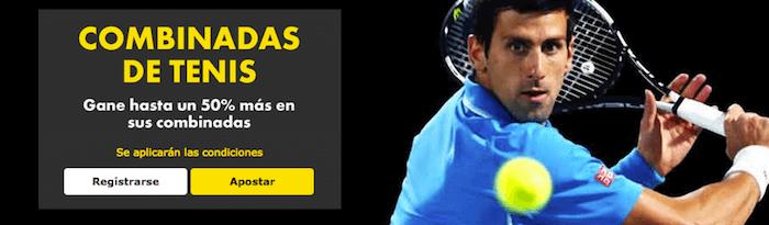 bet365 código del bonus y Combinadas de tenis