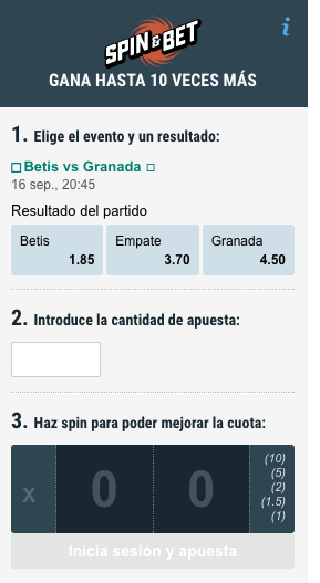 Spin & Bet Betstars