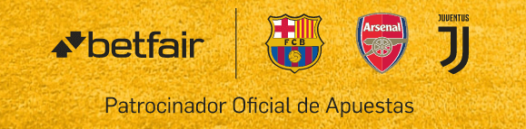 Betfair patrocinador oficial