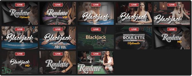 Casino en vivo Shadowbet