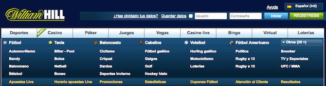 William Hill España