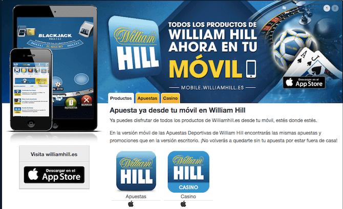 Mobile William Hill
