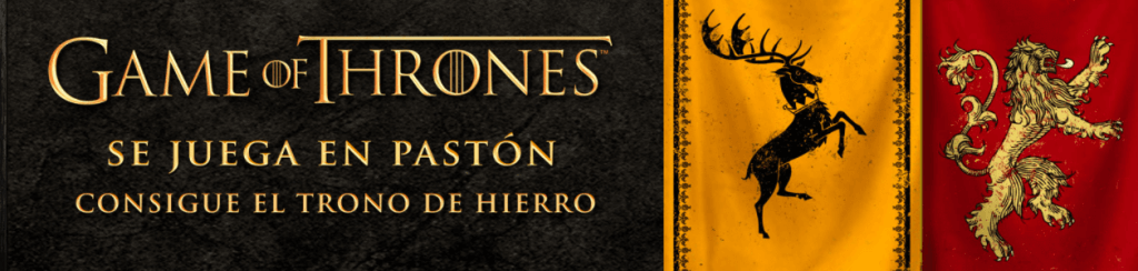 Game of Thrones en PASTÓN