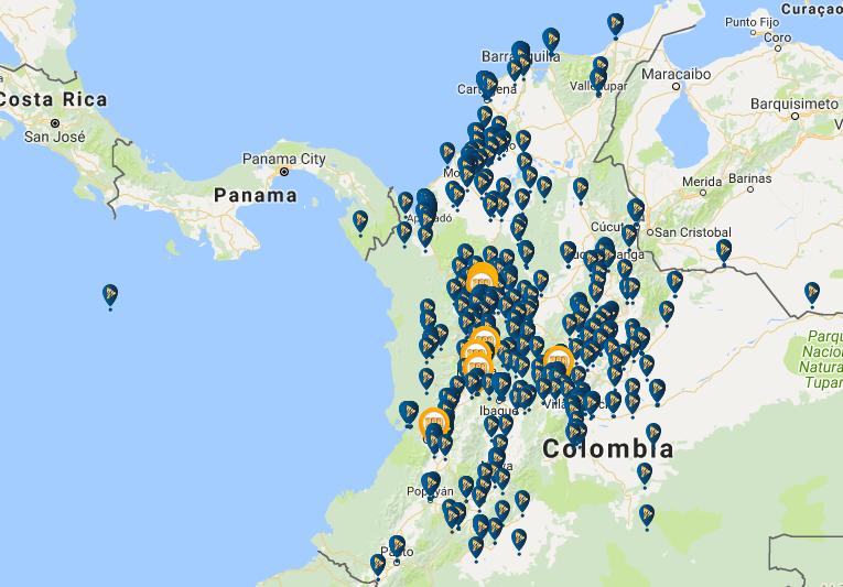 Locales de Wplay en Colombia