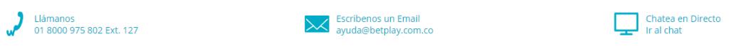 Contactar con BetPlay