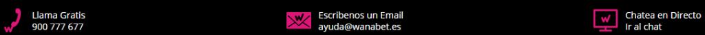 Contactar con Wanabet