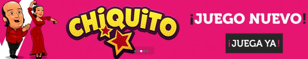 Juego nuevo de Chiquito