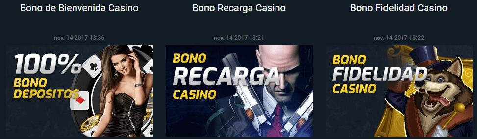 Promociones para CampeonBet casino