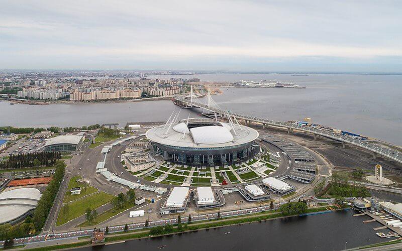 Estadios del Mundial de Rusia