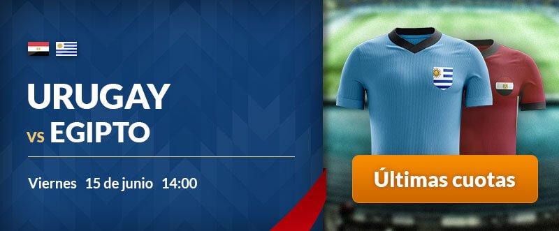 Apuestas gratis para hoy Egipto-Uruguay
