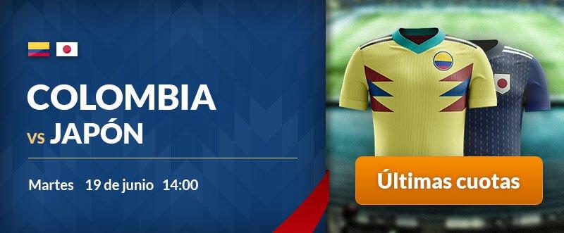 Apuestas gratis para hoy Colombia-Japón