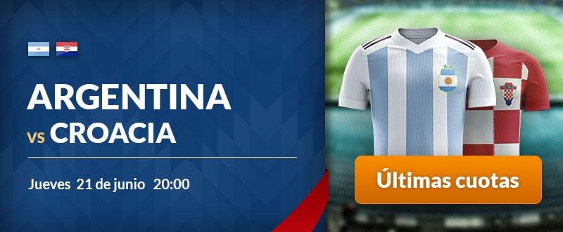 Apuestas para hoy Argentina-Croacia