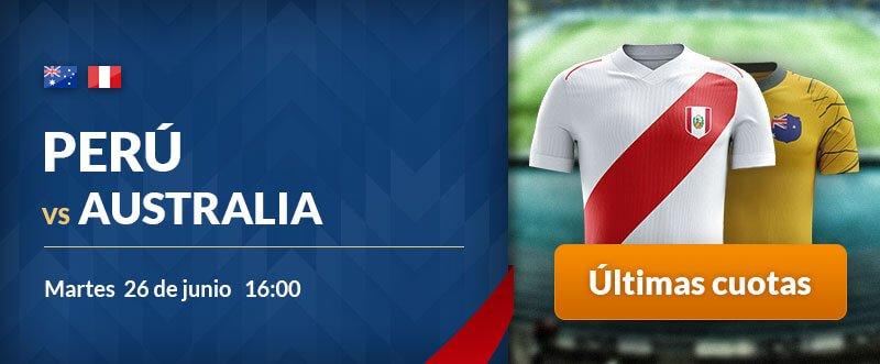 Apuestas gratis para hoy Australia-Perú
