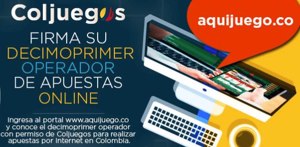 Aquijuego licencia de Coljuegos