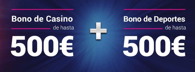 Bono deportes y Bono Casino de GoldenPark