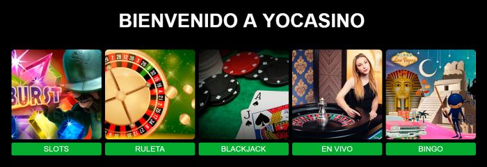 Yo Casino Juegos