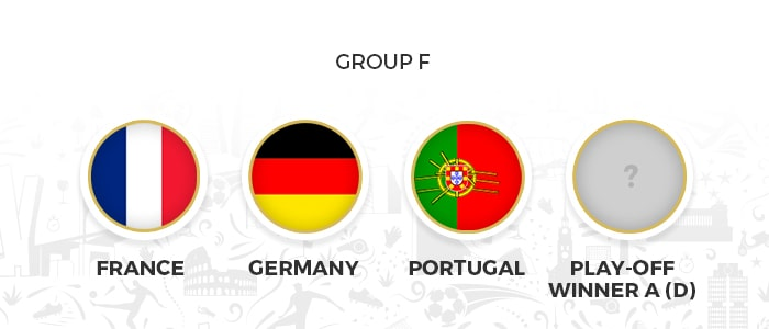 grupo f eurocopa 2020