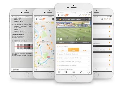 Servicios Disponibles en Kirolbet App