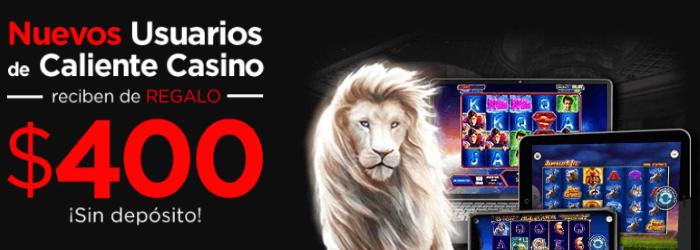 Caliente Bono de Bienvenida Casino