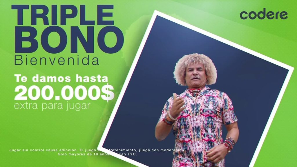 triple bono bienvenida codere colombia