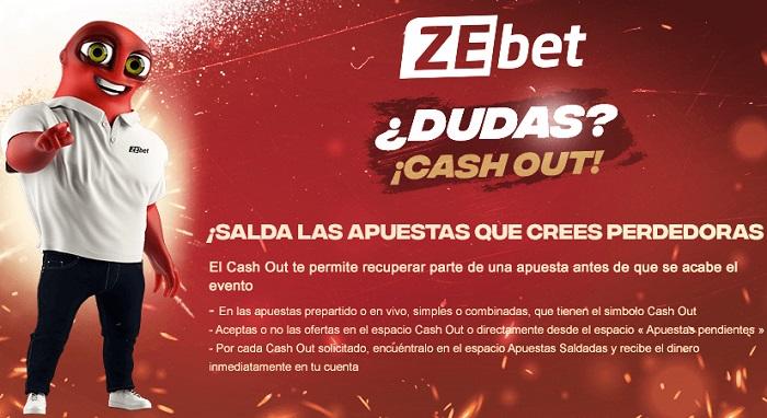 Zebet Cash Out Oferta