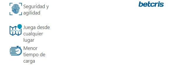 Aplicación Betcris Celular
