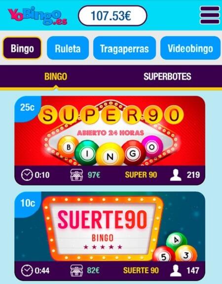 YoBingo App