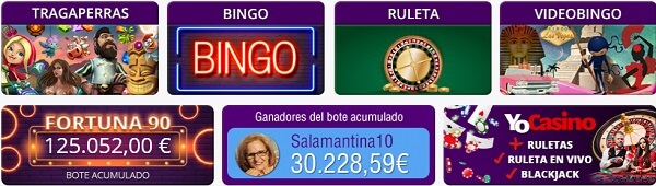 YoBingo Juegos