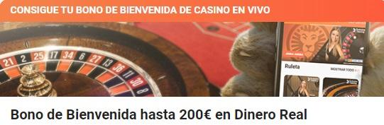 Bono Casino en Vivo
