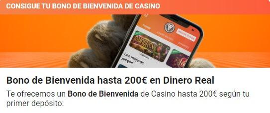 LeoVegas Bono de Bienvenida Casino