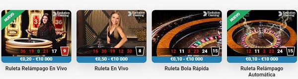 LeoVegas Juegos de Casino en Vivo
