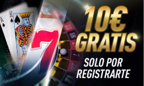 Sportium Casino Bono por Registro
