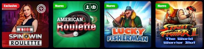 Oferta de Juegos PokerStars