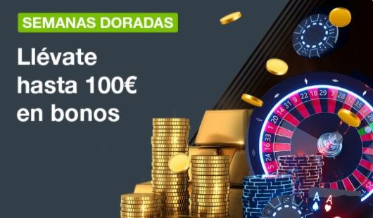 Oferta de Casino Semanas Doradas