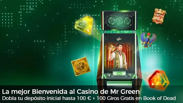 Mr Green Bono de Bienvenida Casino