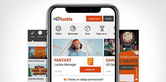 Luckia Aplicación