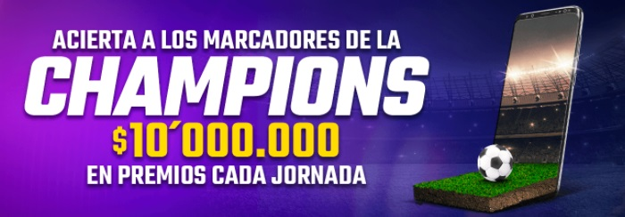 Rushbet Premios Champions League